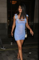 Pregnant CHANEL IMAN at Revolve Presents at LA Party in London 05/31/2018