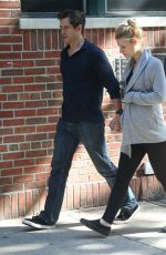 Pregnant CLAIRE DANES and Hugh Dancy Out in New York 06/12/2018