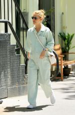 Pregnant CLAIRE DANES in Jumpsuit Out in New York 06/12/2018