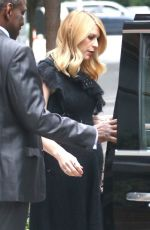 Pregnant CLAIRE DANES Out and About in New York 06/13/2018