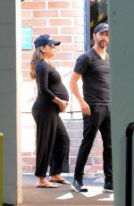 Pregnant EVA LONGORIA Arrives at a Doctor