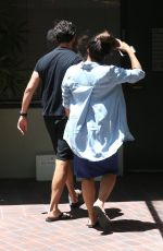 Pregnant EVA LONGORIA Leaves a Doctors Office in Beverly Hills 06/14/2018