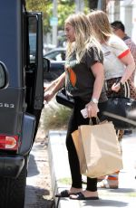 Pregnant HILARY DUFF Leaves NK Shop in Los Angeles 06/29/2018