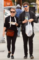 Pregnant HILARY DUFF Out and About in Los Angeles 06/17/2018