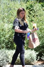 Pregnant HILARY DUFF Out and About in Studio City 06/10/2018