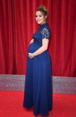 Pregnant JACQUELINE JOSSA at British Soap Awards 2018 in London 06/02/2018