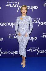 Pregnant KATE HUDSON at Popsugar Play/Ground in New York 06/10/2018