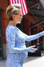 Pregnant KATE HUDSON Leaves Her Hotel in New York 06/08/2018