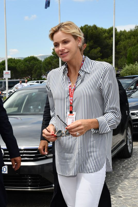PRINCESS CHARLENE at Balmain Fashion Show in Paris 06/24/2018
