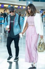 PRIYANKA CHOPRA and Nick Jonas at JFK Airport in New York 06/08/2018