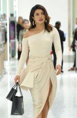 PRIYANKA CHOPRA Shopping at Saks Fifth Avenue in New York 06/14/2018