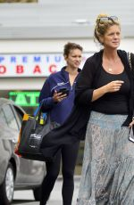 RACHEL and RENEE HUNTER Out for Lunch in Los Angeles 05/30/2018
