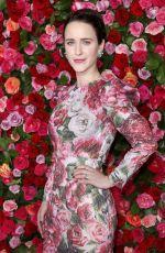 RACHEL BROSNAHAN at 2018 Tony Awards in New York 06/10/2018
