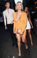 RACHEL FENTON at Prettylittlething x Maya Jama Launch Party in London 06/25/2018