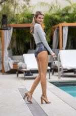 RACHEL MCCORD on the Set of a Photoshoot in Hollywood 06/16/2018