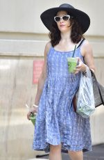 RACHEL WEISZ Out in New York 06/18/2018