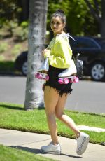 REBECCA BLACK Out Roller Blading in Los Angeles 06/08/2081