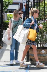 REESE WITHERSPOON and AVA PHILLIPE Out in Brentwood 06/29/2018