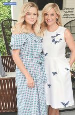 REESE WITHERSPOON and AVA PHILLIPPE in US Weekly, July 2018