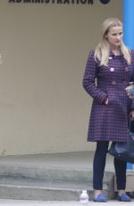 REESE WITHERSPOON and ZOE KRAVITZ on the Set of Big Little Lies in Brentwood 06/21/2018