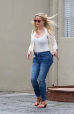 REESE WITHERSPOON in Jeans Arrives at a Spa in Los Angeles 06/16/2018