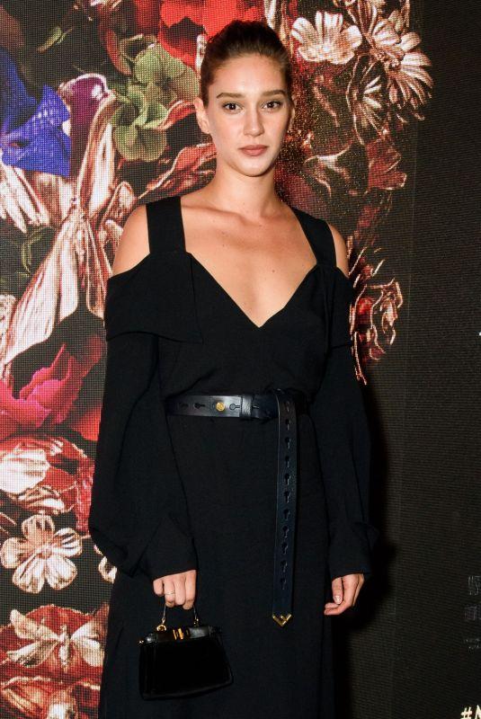 RENEE STEWART at McQueen Premiere in London 06/04/2018