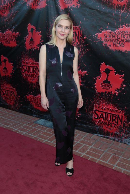 RHEA SEEHORN at 2018 Saturn Awards in Burbank 06/27/2018