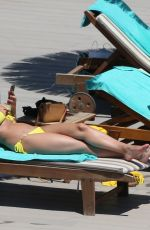 RHIAN SUDGEN in Bikini at a Pool in Ibiza 06/17/2018