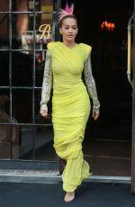 RITA ORA Leaves Her Hotel in New York 06/12/2018