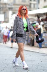 RITA ORA Out and About in Verona 06/04/2018