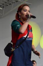 RITA ORA Performs at 10th Annual 93Q Summer Jam at Papermill Island