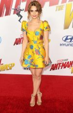 ROSANNA PANSINO at Ant-man and the Wasp Premiere in Los Angeles 06/25/2018