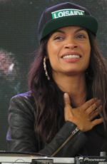 ROSARIO DAWSON at Rock Rubber 45s Premiere in Central Park in New York 06/25/2018
