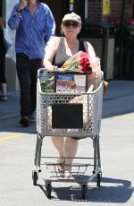 ROSEANNE BARR Out Shopping in Woodland Hills 06/23/2018