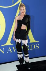 ROSIE HUNTINGTON-WHITELEY at CFDA Fashion Awards in New York 06/05/2018