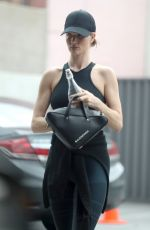 ROSIE HUNTINGTON-WHITELEY Leaves a Gym in West Hollywood 05/31/2018