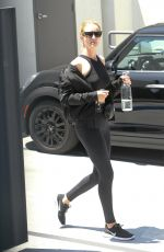 ROSIE HUNTINGTON-WHITELEY Leaves a Gym in West Hollywood 06/27/2018