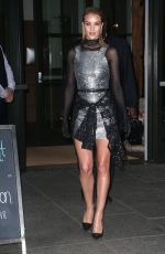 ROSIE HUNTINGTON-WHITELEY Leaves Her Hotel in New York 06/03/2018