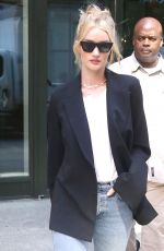 ROSIE HUNTINGTON-WHITELEY Out in New York 06/05/2018