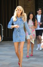ROSIE WILLIAMS and OLIVIA ATTWOOD at ITV Studios in London 06/25/2018