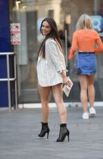 ROSIE WILLIAMS in Denim Shorts Out in London 06/28/2018