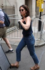 RUTH WILSON Arrives at BBC Studios in London 06/20/2018