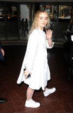 SABRINA CARPENTER Leaves Her Hotel in London 06/12/2018