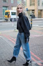 SABRINA CARPENTER Out and About in London 06/12/2018