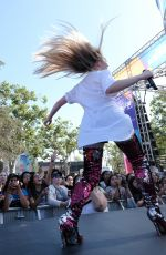 SABRINA CARPENTER Performs at KissFM Wango Tango Village in Los Angeles 06/02/2018