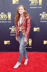 SADIE SINK at 2018 MTV Movie and TV Awards in Santa Monica 06/16/2018