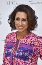 SAIRA KHAN at Andrea McLean Book Launch Party in London 06/26/2018
