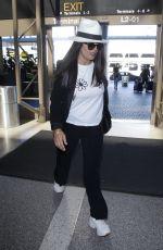 SALMA HAYEK at Los Angeles International Airport 06/27/2018