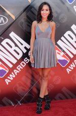 SAMANTHA ELIZABETH at 2018 NBA Awards at Barker Hangar in Santa Monica 06/25/2018