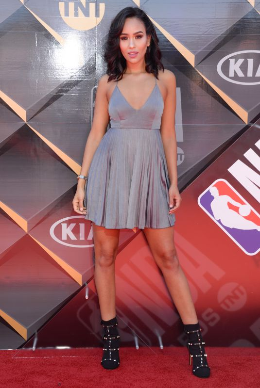 SAMANTHA ELIZABETH at 2018 NBA Awards at Barker Hangar in Santa Monica 06/25/2018